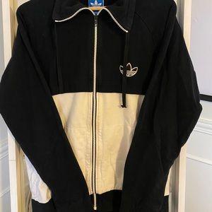 Vintage Adidas colour block zip up!